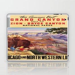 Vintage poster - Grand Canyon Laptop & iPad Skin