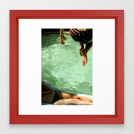 my capacity for happiness (title image)  Framed Art Print