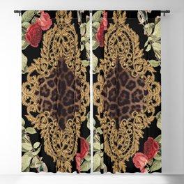 Lace Baroque Blackout Curtain