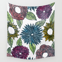 FLORAL  WASH  Wall Tapestry