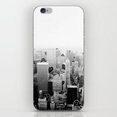 Ghost City iPhone & iPod Skin