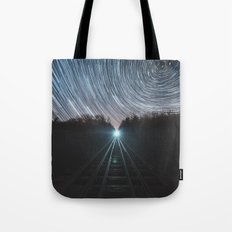 Railroad of Time Tote Bag
