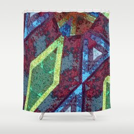 Rugged III Shower Curtain