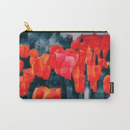 Tulip Field at Night Carry-All Pouch