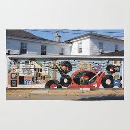 Wonderland Records Rug