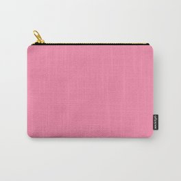 From The Crayon Box – Inspired by Tickle Me Pink - Bright Pink Solid Color Carry-All Pouch