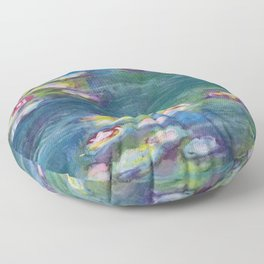 Lily Pond Floor Pillow