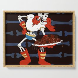 Papyrus and his Spaghetti Serving Tray