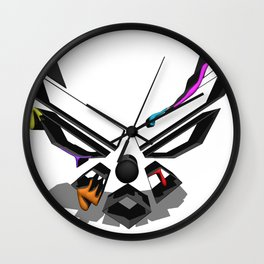 Colorful Freedom  Wall Clock