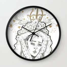 madre Wall Clock