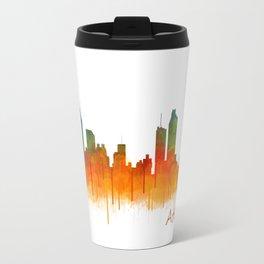 Atlanta City Skyline Hq v2 Travel Mug