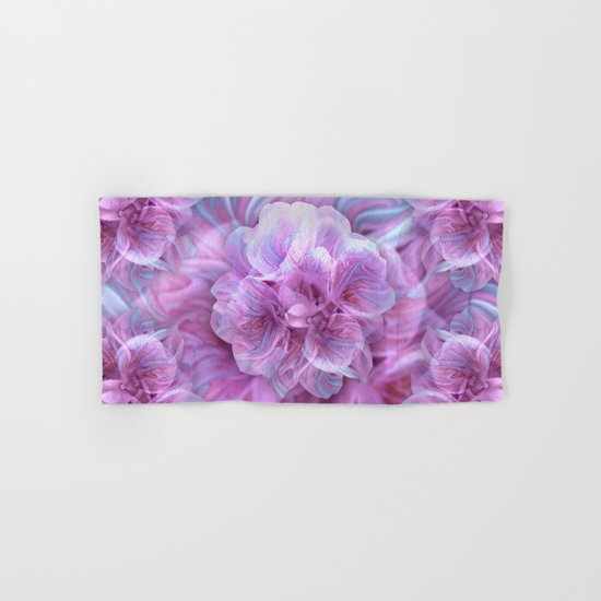 Fractal Flower 3 Hand & Bath Towel