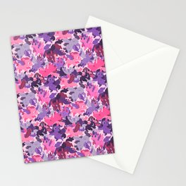 Unicorn Camouflage Stationery Cards