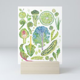 Harvest of Green Mini Art Print