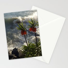 Lakeside Flowers III Stationery Cards