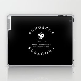 DUNGEONS & DRAGONS - WHERE THE IMPOSSIBLE BECOMES POSSIBLE Laptop & iPad Skin