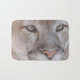 Cougar face Bath Mat