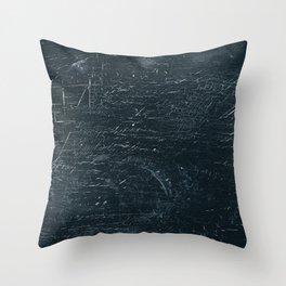 Wooden Dark Throw Pillow
