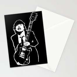 AC DC Stationery Cards