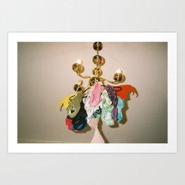 Underwear lamp Art Print