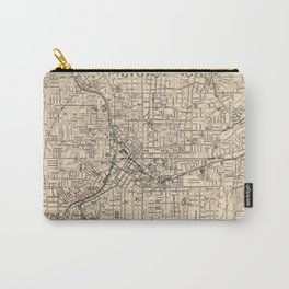 1906 Map of Atlanta, GA Carry-All Pouch