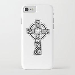 Celtic Knot Cross Tattoo iPhone Case
