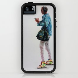 The Bag and the Kicks iPhone Case