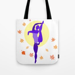 Autumn Dancer Tote Bag