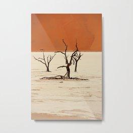 NAMIBIA ... Deadvlei II Metal Print