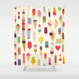 Pop Pop Popsicles! Shower Curtain