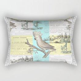 Paris Cockatoo's Colonial Dream Rectangular Pillow