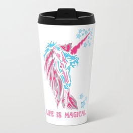 Unicorn: Life is Magical Travel Mug