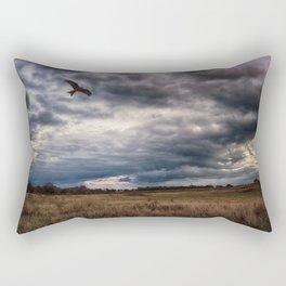 Peace in The Storm Rectangular Pillow