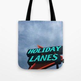 HOLIDAY LANES Tote Bag