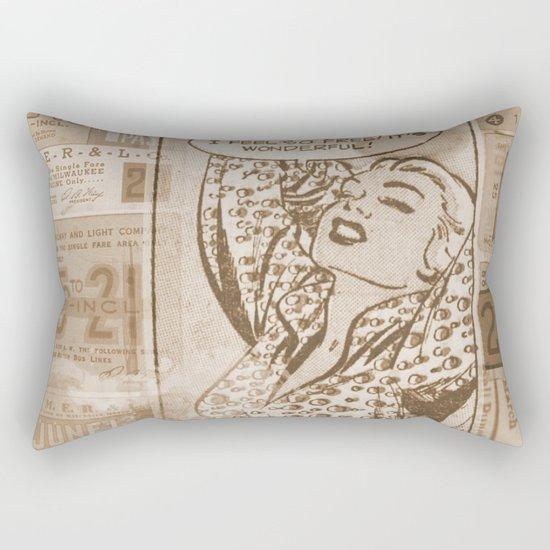 I feel free 4 Rectangular Pillow