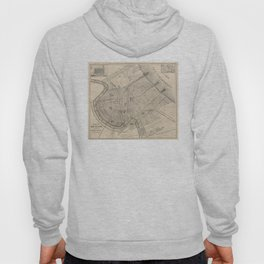 Vintage Map of New Orleans Louisiana (1885) Hoody