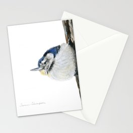 Cutie Pie the Nuthatch by Teresa Thompson Stationery Cards