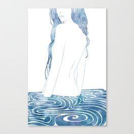 Nereid L Canvas Print