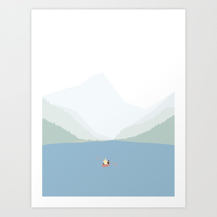 KANO SEJLADS Art Print
