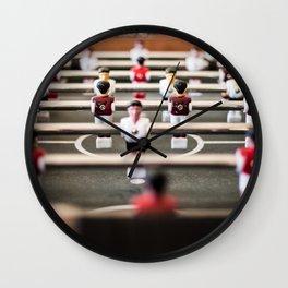 Baby foot game Wall Clock