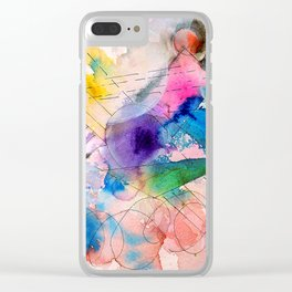Climate Change Clear iPhone Case