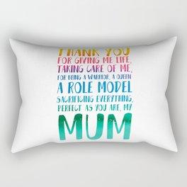 Mum Rectangular Pillow