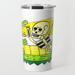 Lucha verde limón Travel Mug