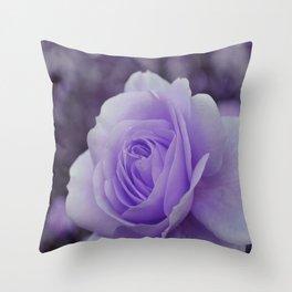 Lavender Rose 2 Throw Pillow