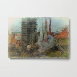 Last Plant Standing Metal Print