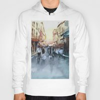 paris Hoodies featuring PARIS by Nicolas Jolly