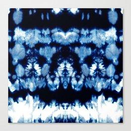 Tie-Dye Shibori Neue Canvas Print
