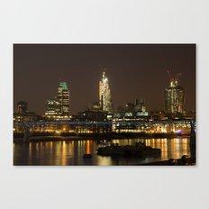 London by Night Canvas Print