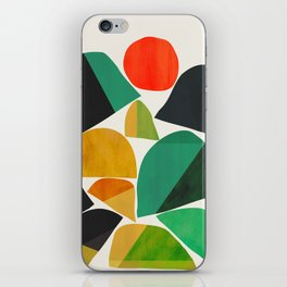 Mountains as the giants iPhone Skin