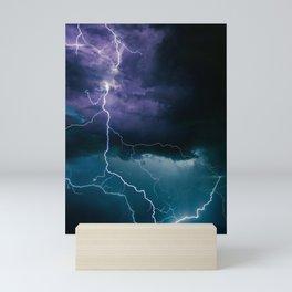 Lightning Strikes Mini Art Print
